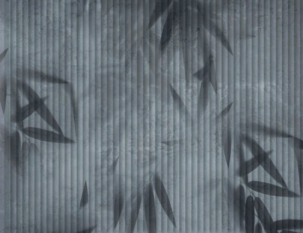 Fototapety Geheimnis szaro-niebieskie odcienie | fototapeta kwiaty