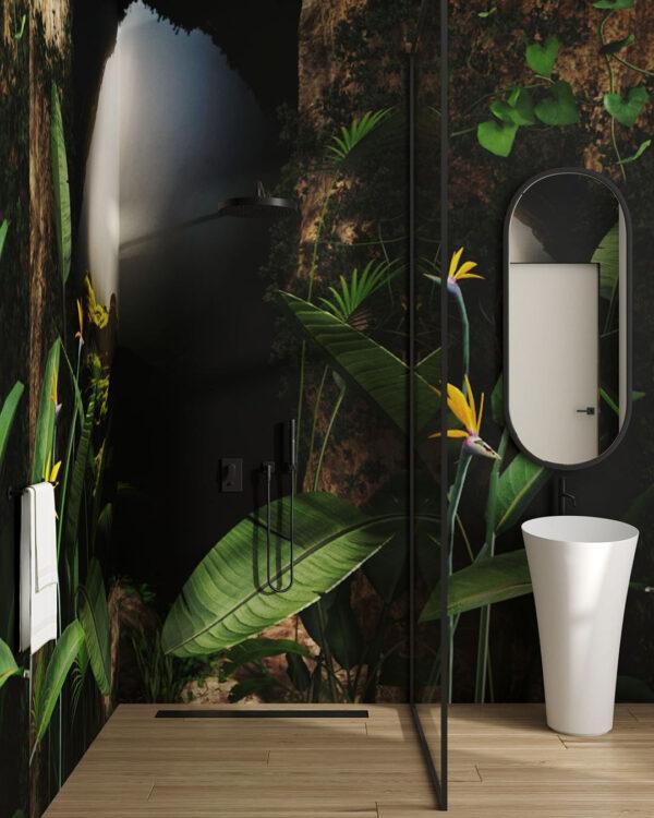 Fototapety Kwiaty Grotta   tapety 3d na ścianę