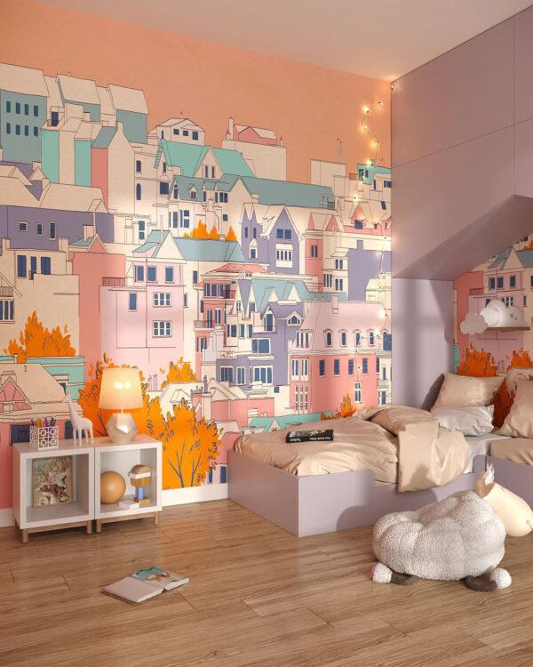 Fototapety Bella città | tapeta do pokoju dziecka