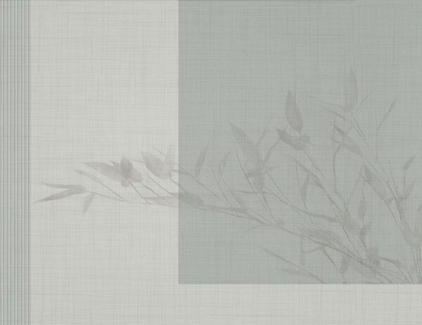 Fototapety Schatten zielone odcienie | tapety 3d do sypialni