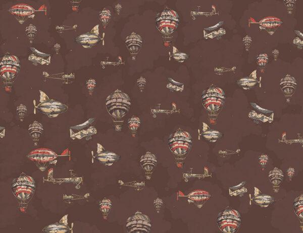 Fototapety Flug brązowe odcienie | fototapeta 3d dla dzieci