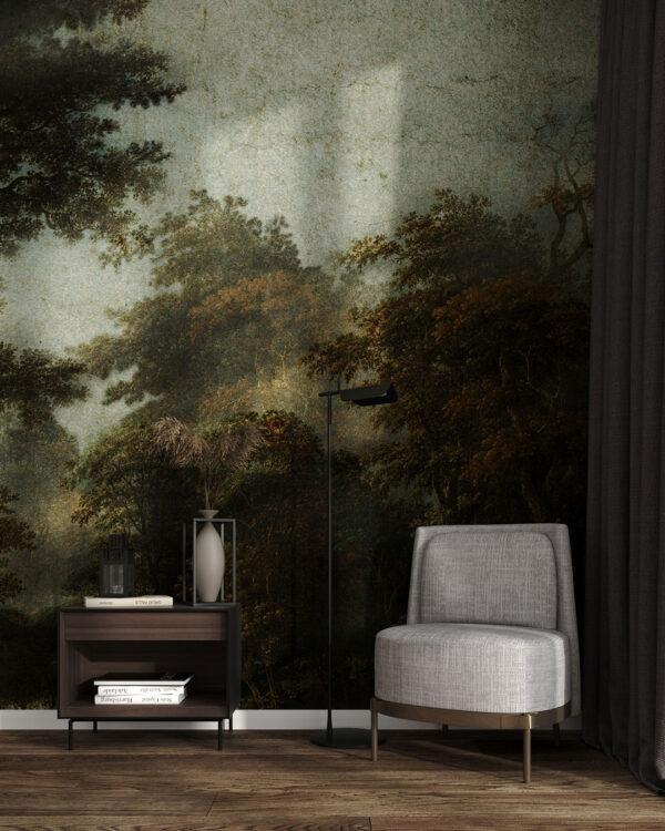 Fototapety Dunkler Wald | tapety 3d do salonu