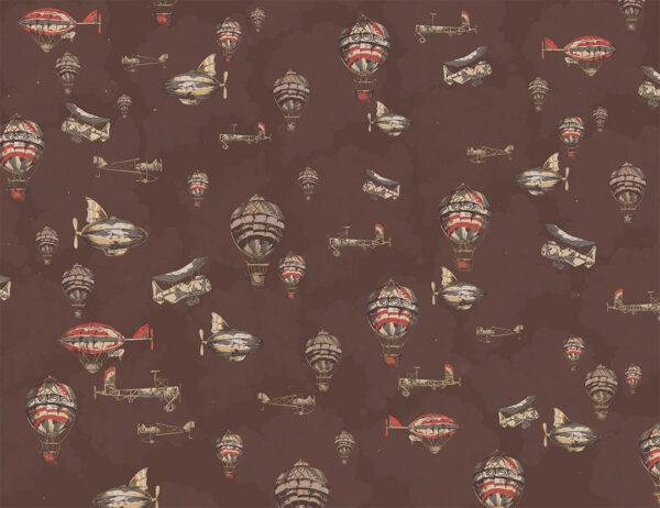 Fototapety Volo brązowe odcienie | fototapeta dla dzieci