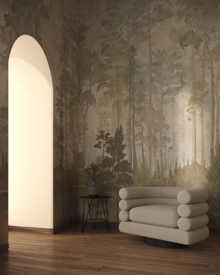 Fototapety Disegno Foresta | tapety do salonu