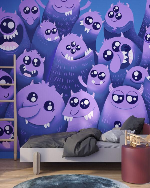 Fototapety Lustige Monster | tapeta do pokoju dziecka
