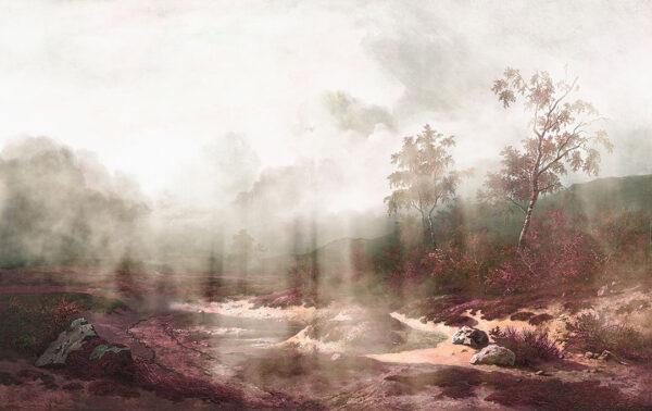 Fototapety Vigas fioletowe odcienie | fototapeta góry