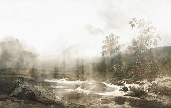 Fototapety Vigas zielone odcienie | fototapeta góry