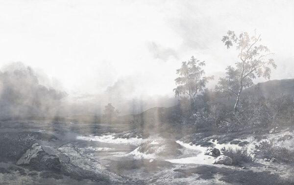 Fototapety Vigas szare odcienie | fototapeta góry