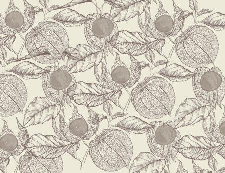 Fototapety Esbjerg szarobrązowe odcienie | fototapeta kwiaty