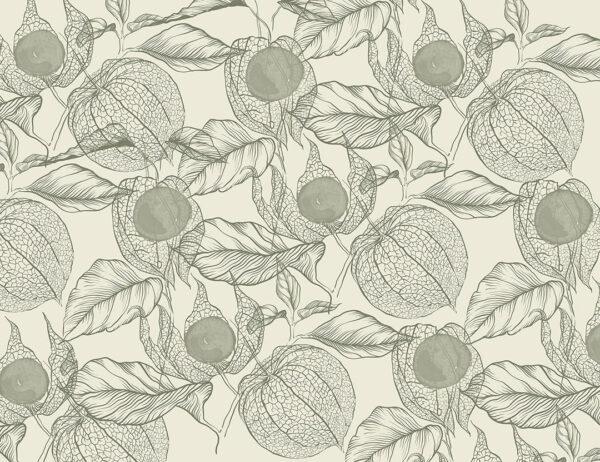 Fototapety Esbjerg zielone odcienie | fototapeta kwiaty