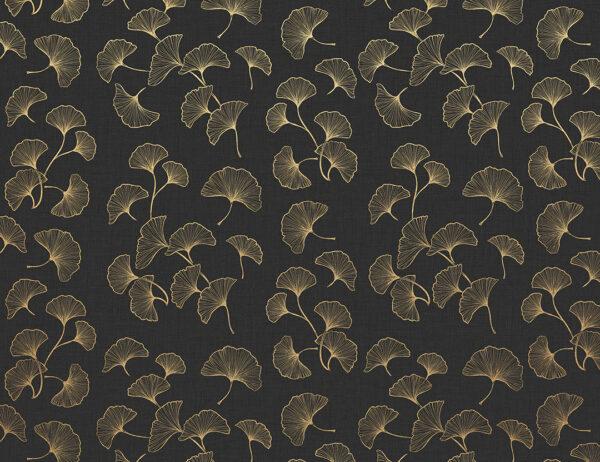 Fototapety Horsens czarne odcienie | fototapety kwiaty