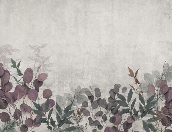 Fototapety Frederikshavn szare odcienie | fototapeta 3d kwiaty