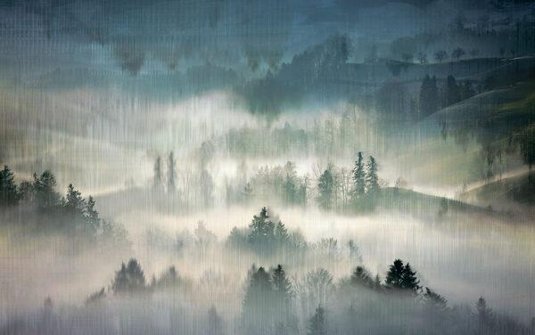 Fototapety Midvåg zielone odcienie | tapety 3d las