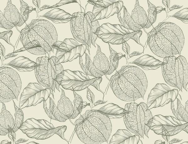 Fototapety Nyborg zielone odcienie | tapety 3d do salonu