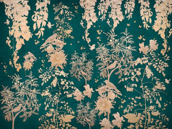fototapety Natura Nobiliaire zielone odcienie | tapety 3d