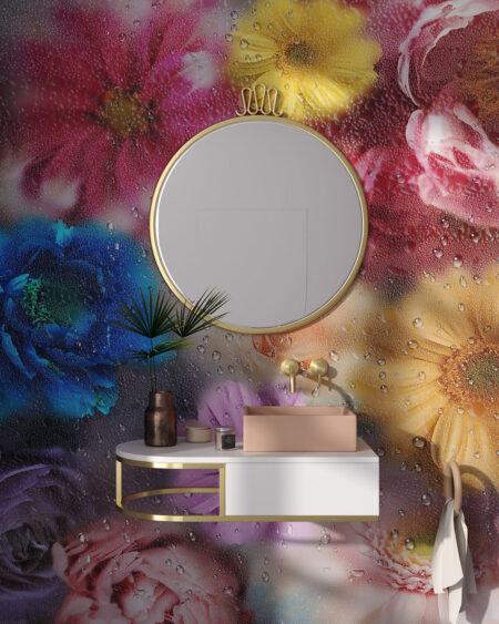 Fototapety La rosée | fototapeta do łazienki