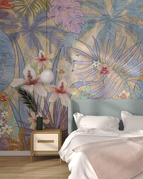 Fototapety Botanique | tapety 3d do sypialni