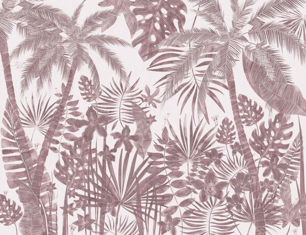 Fototapety Balnéaire różowe odcienie | fototapeta kwiaty