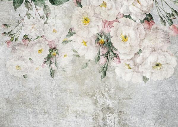 Fototapety Vieux zielone odcienie | fototapeta kwiaty