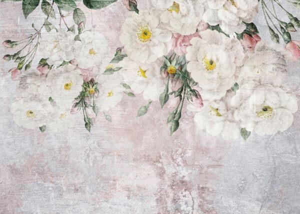 Fototapety Vieux różowe odcienie | fototapeta kwiaty