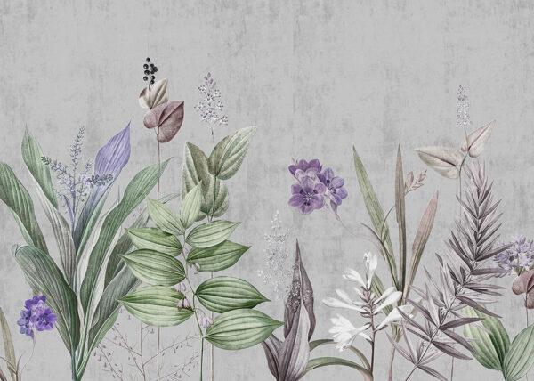 Fototapety Attendrissant szare odcienie | fototapeta kwiaty