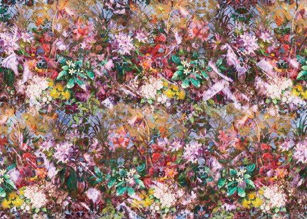 Fototapety Broyage przykład wielokolorowych | fototapeta kwiaty