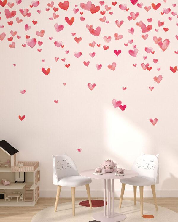Fototapety L'amour | fototapeta do pokoju dziewczynki