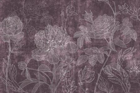 Fototapety Couleur różowe tło | fototapeta kwiaty