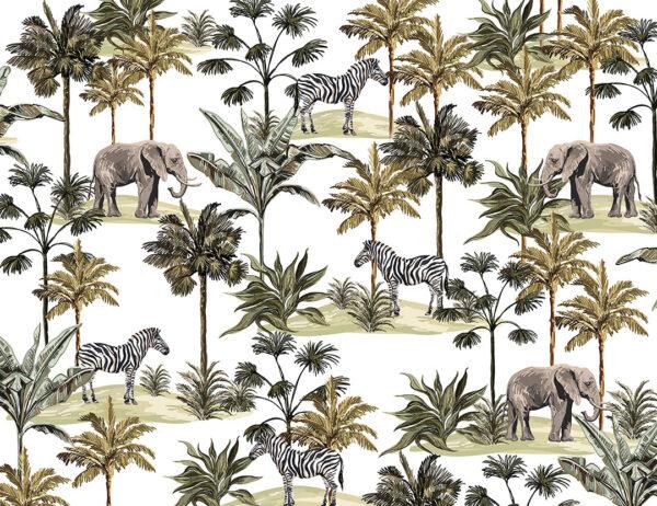 Fototapety Afrique białe tło | fototapety zwierzęta