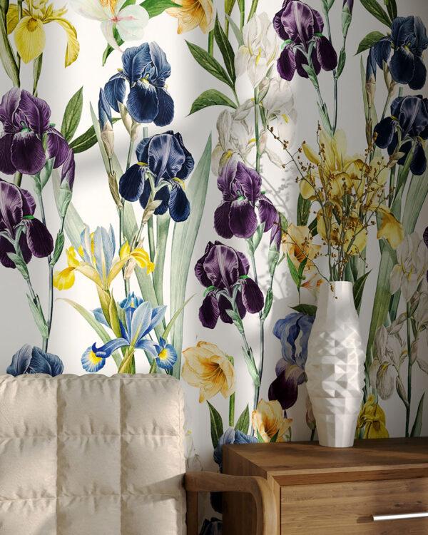 Fototapety Irises | fototapeta kwiaty