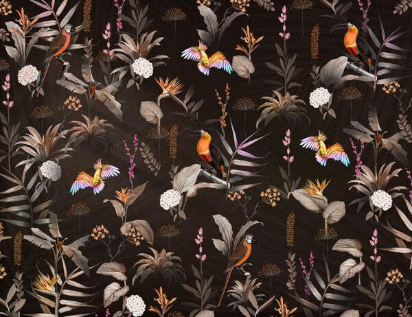 Fototapety Zwierzęta Jardin ciemne odcienie | tapety zwierzęta