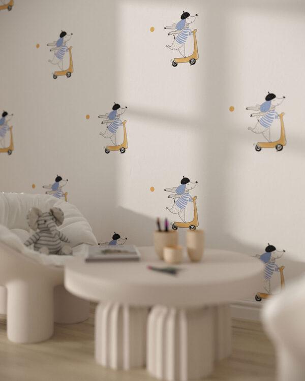 Fototapety Chien   tapety do pokoju dziecięcego