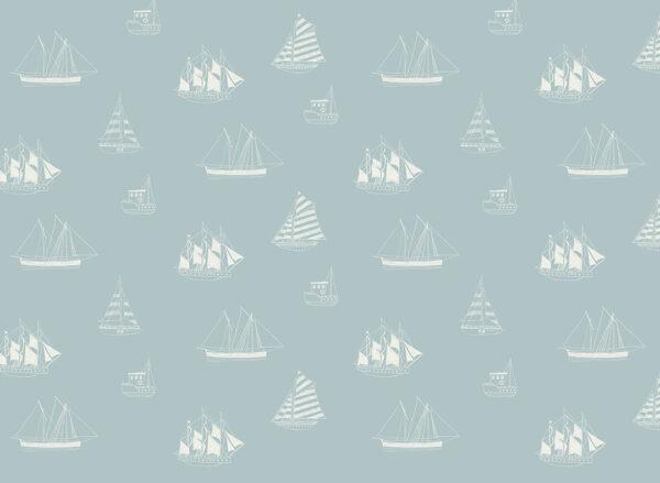 Fototapety Navires niebieskie odcienie | fototapeta dla dzieci