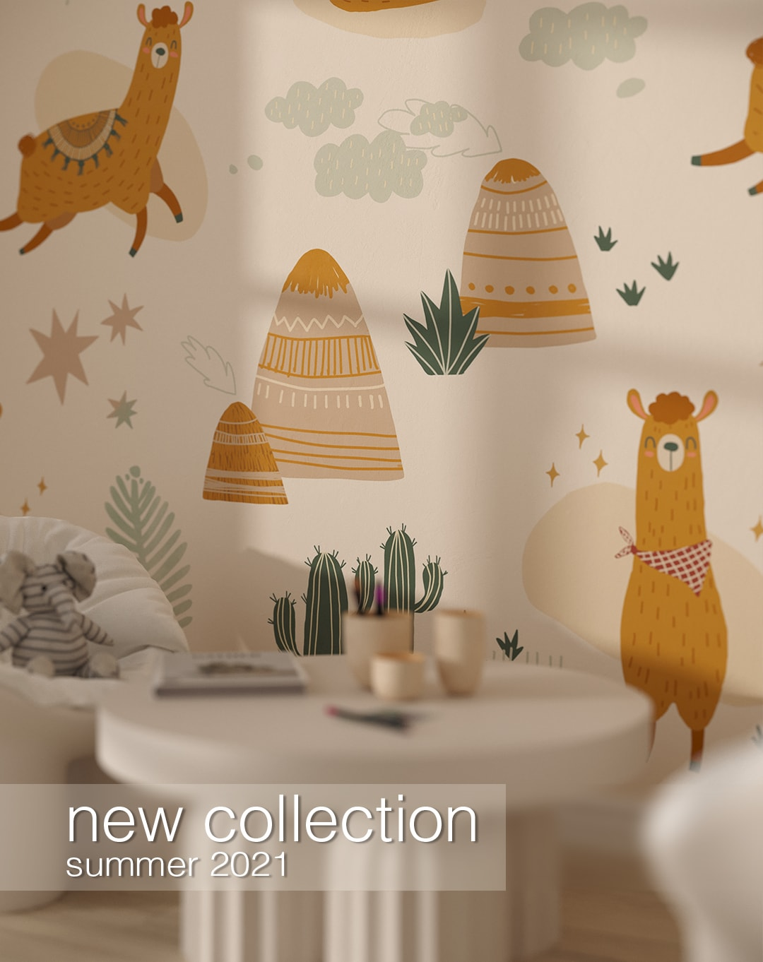 new collection fototapet summer-2021 kith2kin