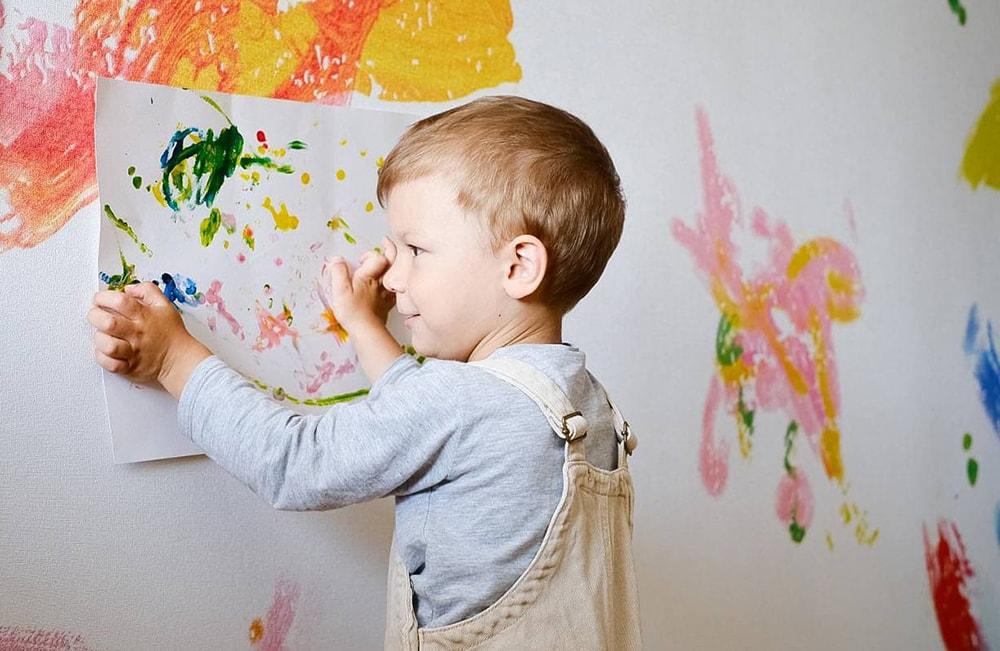 Malowanie dziecka tapety 3d od kith2kin