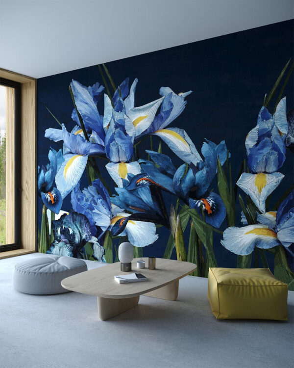 Fototapeta Iris Iridaceae   fototapeta do salonu