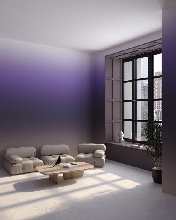 Fototapeta Northwestern Purple Gradient | Fototapety Geoemetria