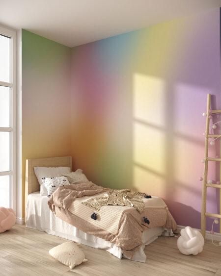 Fototapeta Rainbow Gradient | Fototapety Do Pokoju Dziecięcego