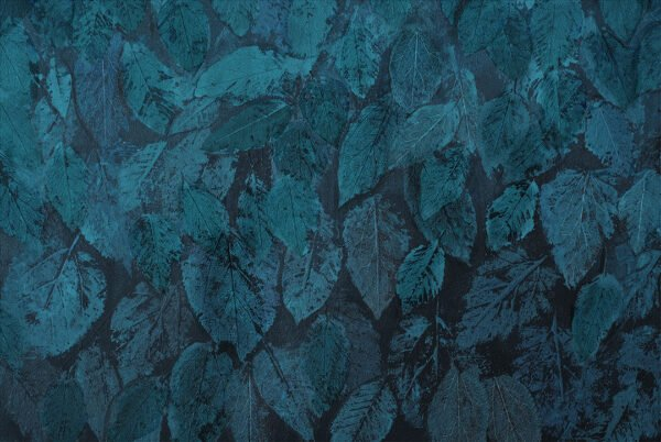 Fototapeta La foglia niebieskie odcienie   fototapety Tropikalne Liście od kith2kin